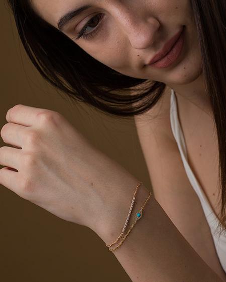 Delicate Diamond Bracelet Online
