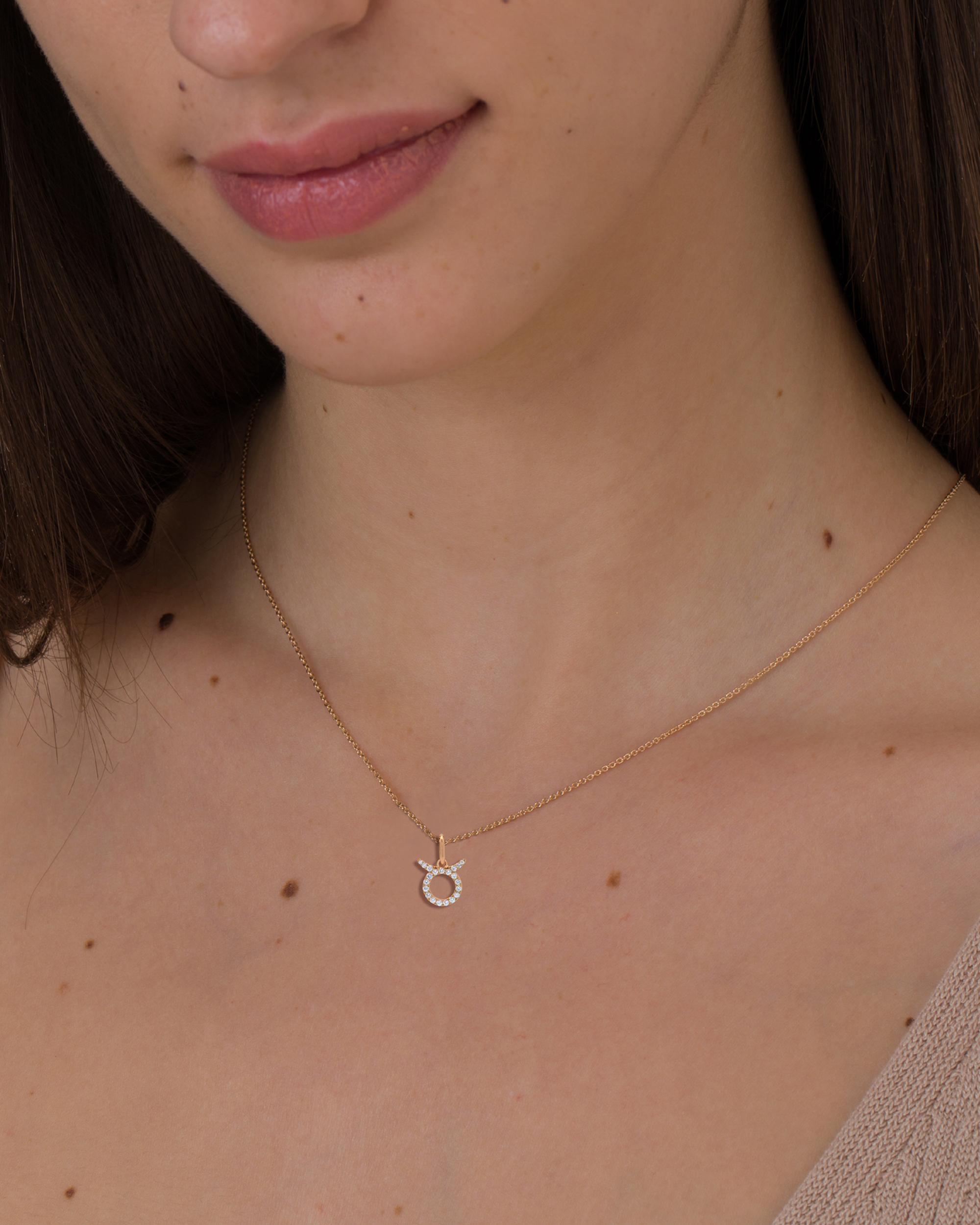 gold zodiac necklace online